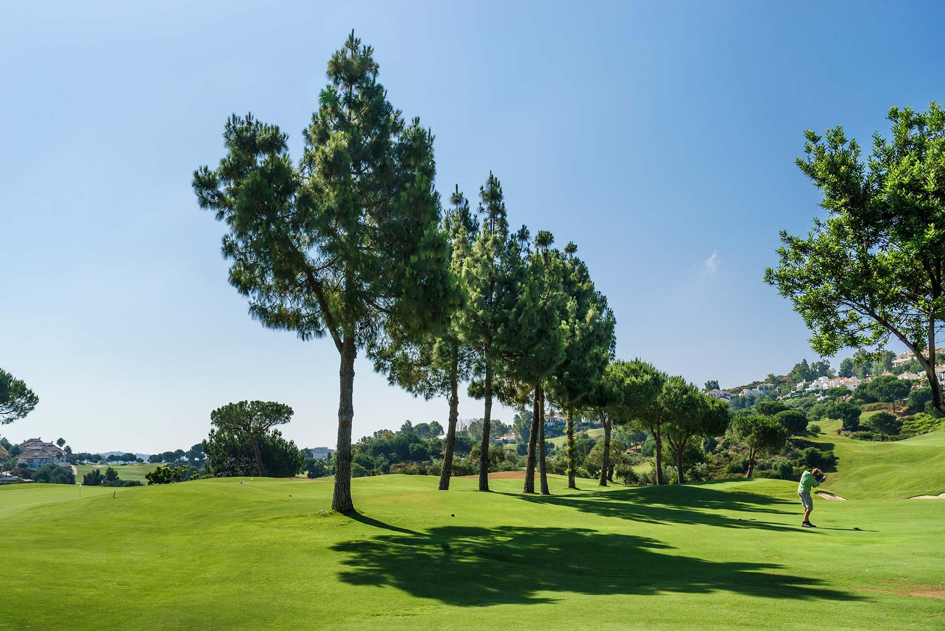 Propiedades en zona de golf en Marbella