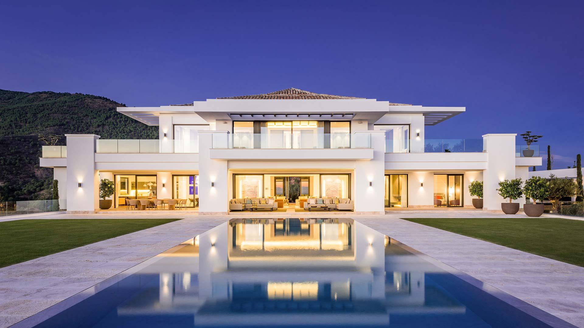 Mansions in La Zagaleta, Benahavis-Marbella